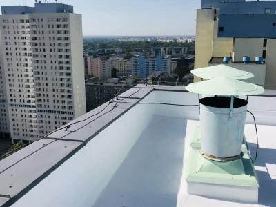 Łódź – zimny dach